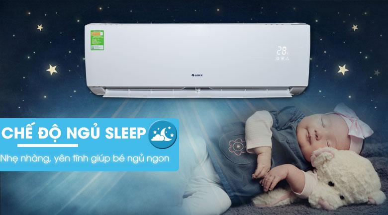 Chế độ ngủ ban đêm - Máy lạnh Gree 1.5 HP GWC12IC-K3N9B2J