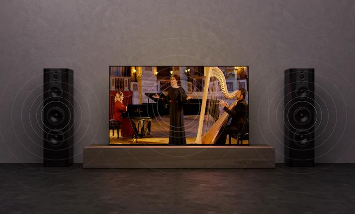 Âm thanh sống động bùng nổ trên tivi sony đem tăng trải nghiệm cho người xem
