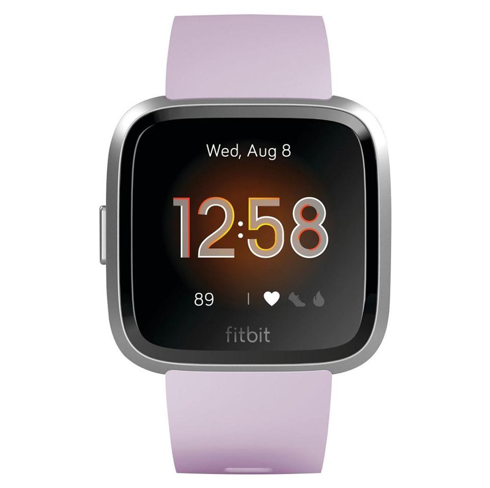 Đồng hồ thông minh FITBIT VERSA LITE LILAC/SILVER (VN) (FB415SRLV)