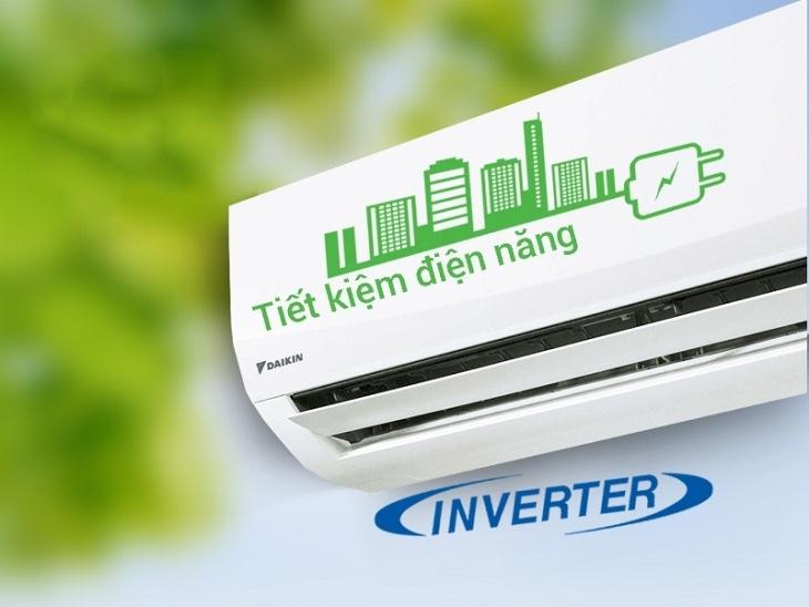 Máy lạnh - điều hòa Daikin Inverter 2 chiều 1 HP FTHF25RAVMV với công nghệ inverter giúp tiết kiệm điện năng tiêu thụ