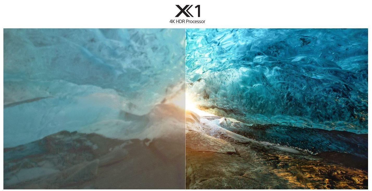 bộ xử lý 4K HDR Processor X1 tái tạo chiều sâu, kết cấu và màu tự nhiên