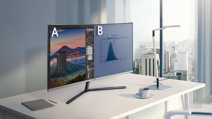 màn hình cong Samsung 32 inch LU32R590CWEXXV