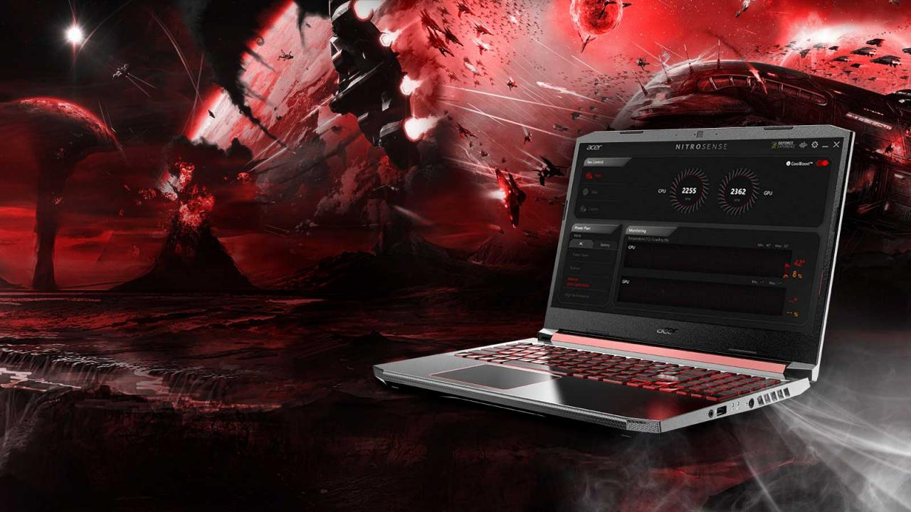 Overview Laptop Acer Nitro 5 AN515-54-784P-2
