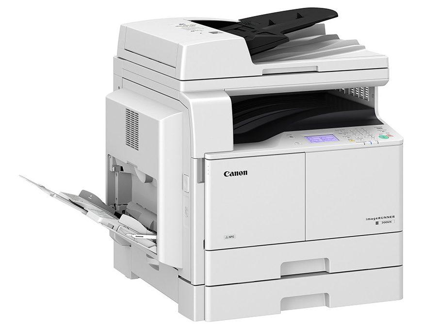 Máy in laser trắng đen Canon A3 IR2006N -4