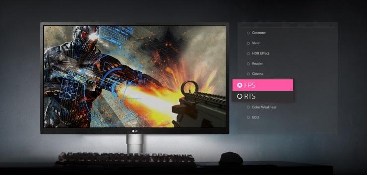 màn hình LCD LG 27 inch 27UL550-W.ATV