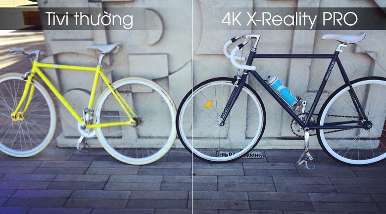 4K X-Reality PRO đem tới hình ảnh sắc nét tới từng chi tiết