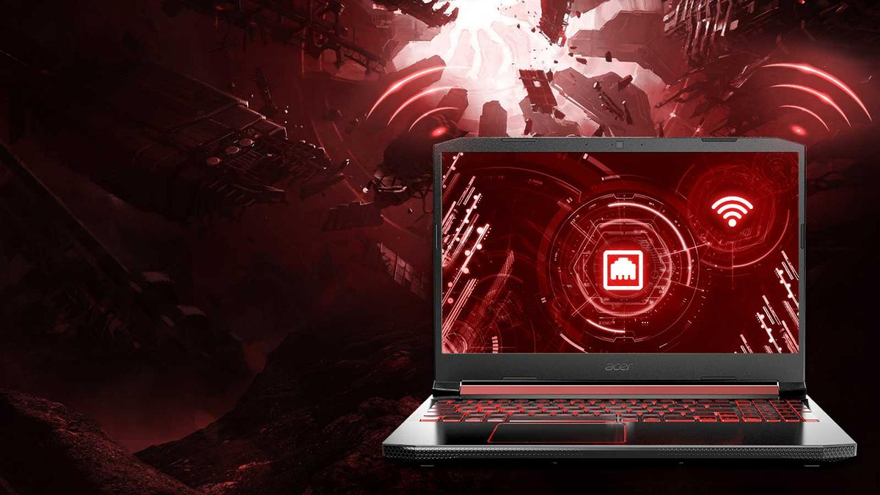 Overview Laptop Acer Nitro 5 AN515-54-784P-5