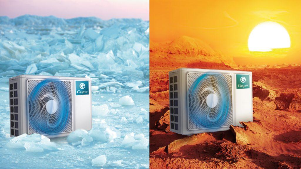 Máy lạnh Casper 1.5 HP EC-12TL22 -6