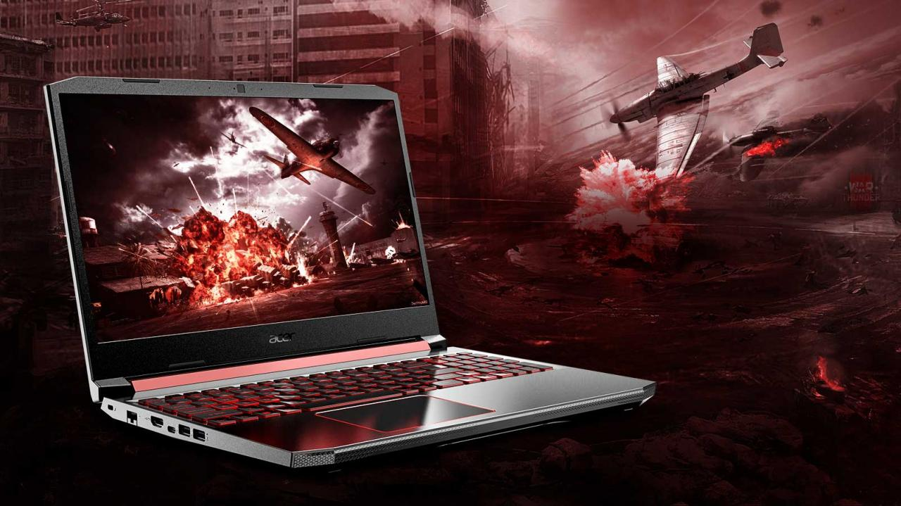 Overview Laptop Acer Nitro 5 AN515-54-784P-6