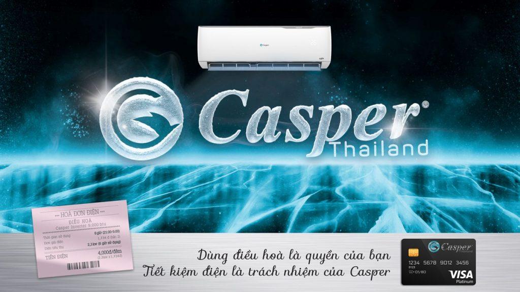 Máy lạnh 2 chiều Casper EH-18TL22