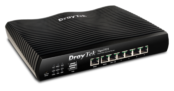 Router Wifi Vigor2925 Series Dual WAN