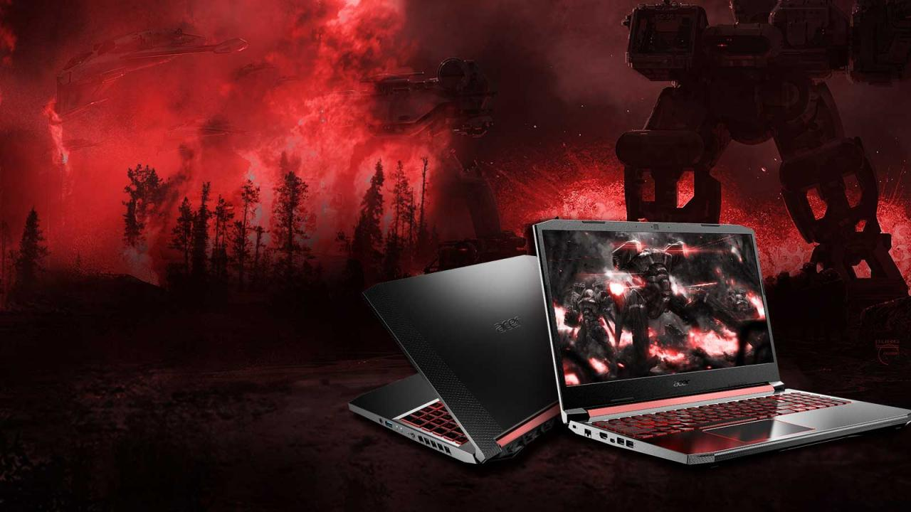 Overview Laptop Acer Nitro 5 AN515-54-784P-7