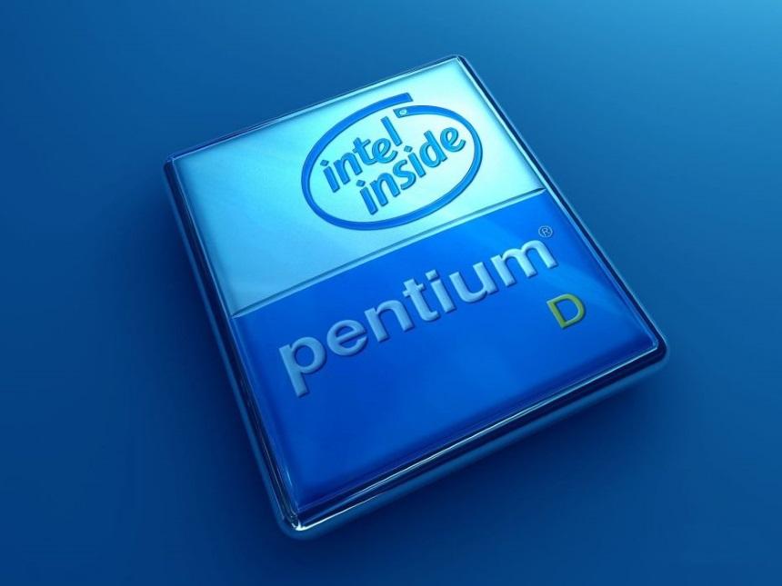 logo cpu intel pentium