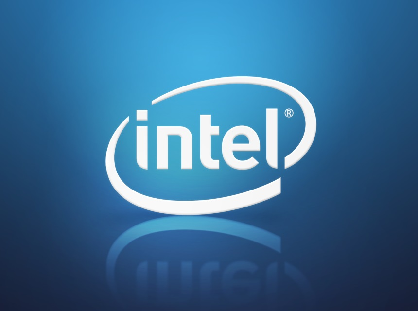 logo cpu intel
