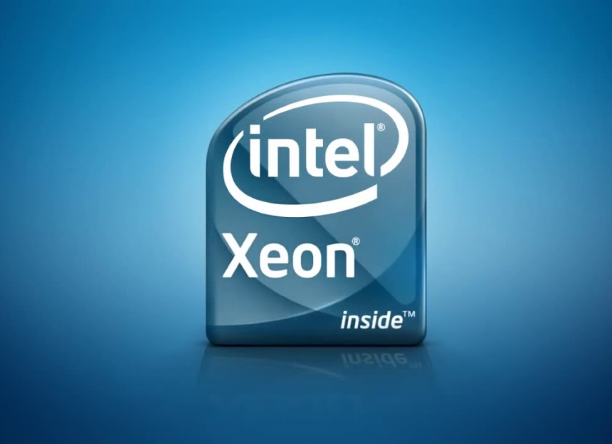 logo cpu intel Xeon