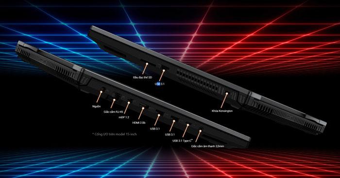 ASUS-ROG-Strix-SCAR-II-cổng-i-o