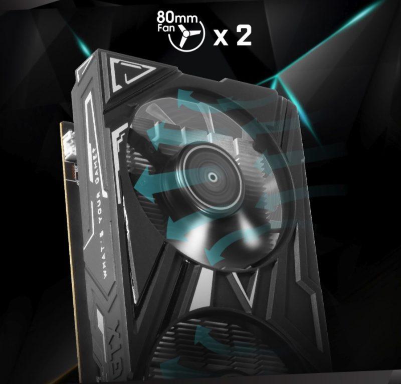 GALAX GeForce GTX 1650 4GB GDDR5 EX