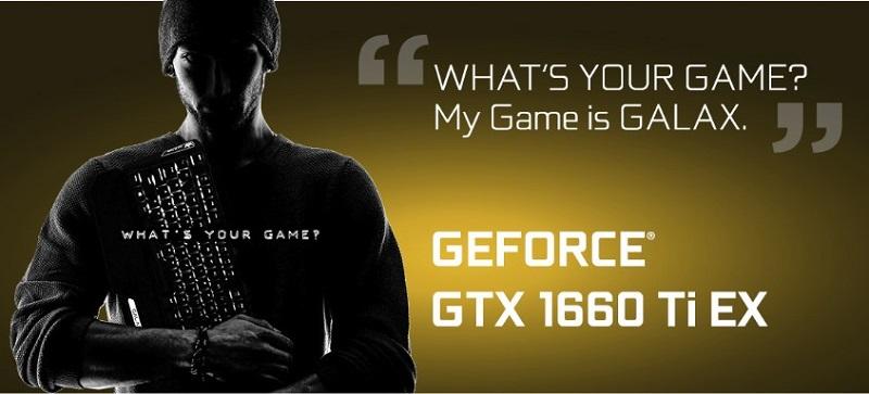 GALAX GeForce GTX 1660Ti 6GB GDDR6 EX