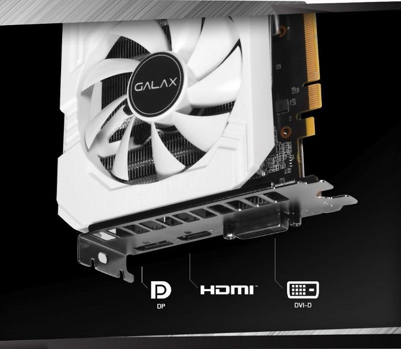GALAX GeForce RTX 2060 6GB GDDR6 EX White