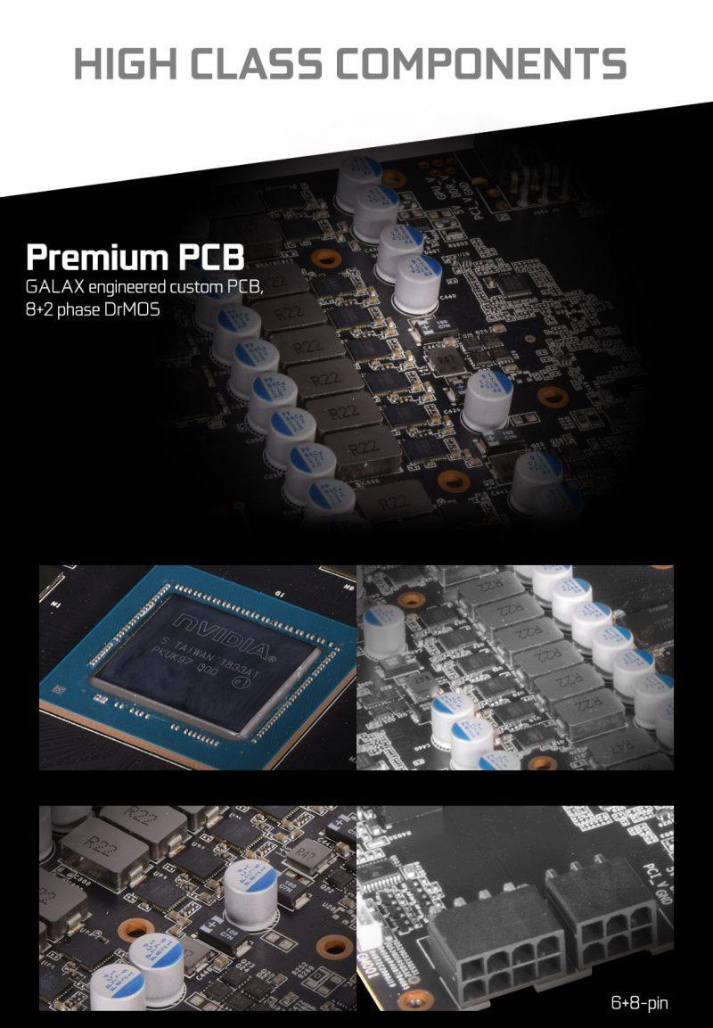 GALAX GeForce RTX 2080 8GB GDDR6 EX Gamer White