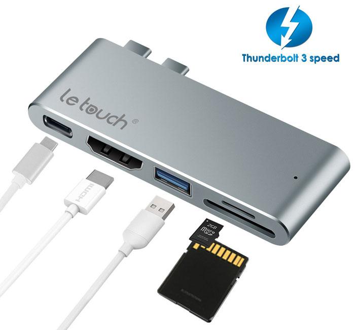 LeTouch-Dual-USB-C-HUB-Pro-2