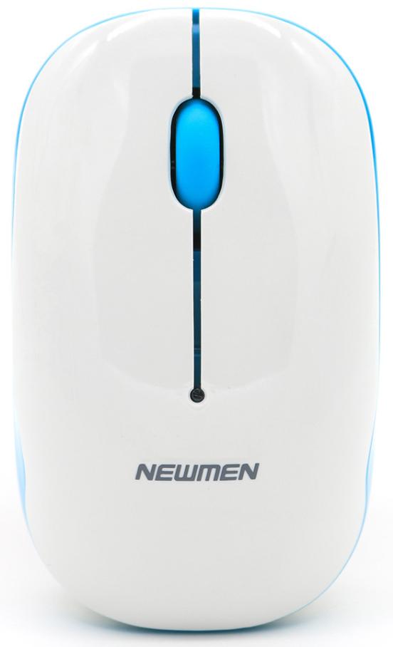 Chuột máy tính không dây Newmen F278 (Trắng)