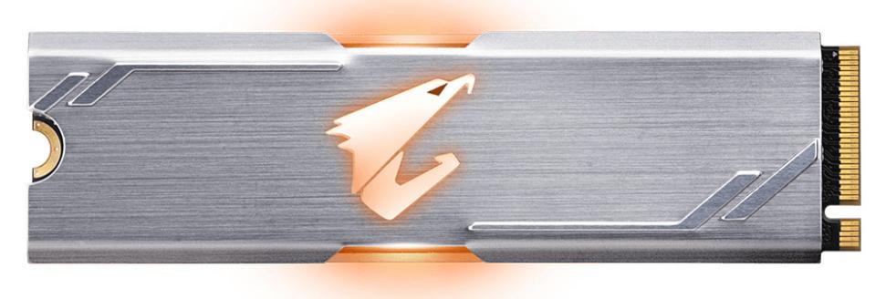 ổ cứng SSD GIGABYTE AORUS RGB M.2 NVMe 256GB