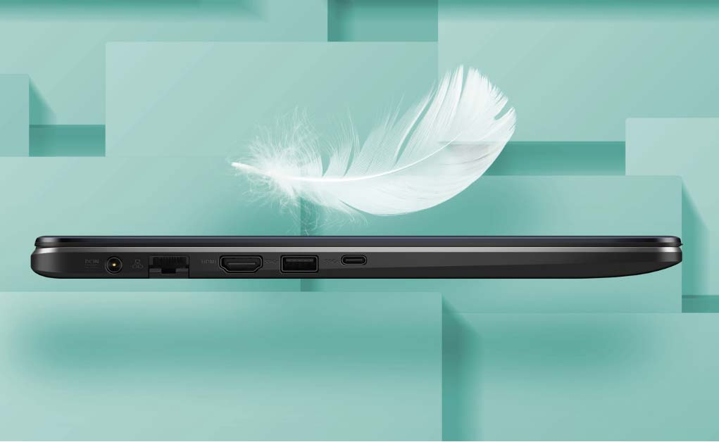 ASUS VivoBook X505BA-BR312T thiết kế