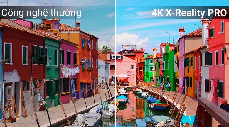 X-Reality Pro giúp hình ảnh sắc nét chân thực tuyệt đối