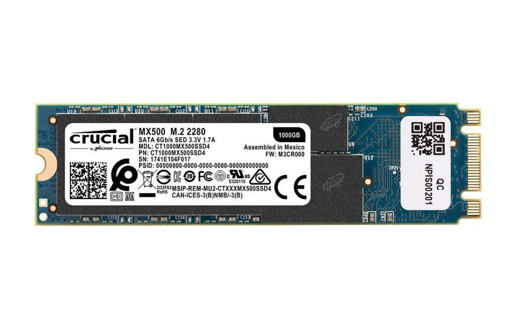 ổ cứng SSD Crucial MX500 1TB M.2 2280