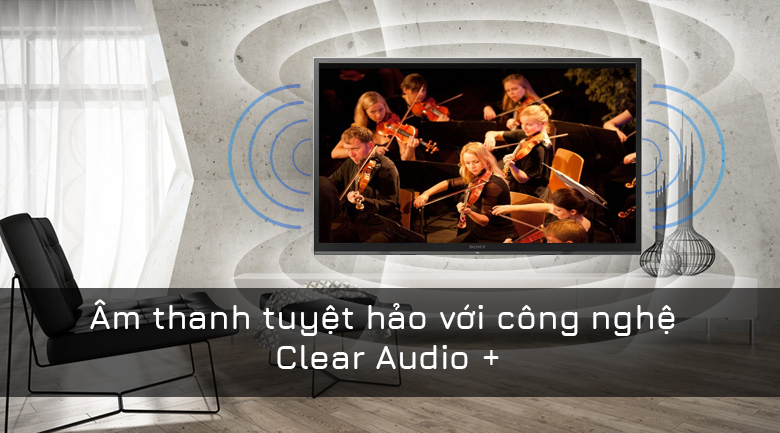 công nghệ âm thanh tivi sony đem tới trải nghiệm hoàn hảo