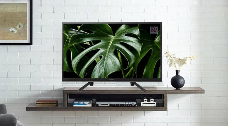 Smart Tivi Sony Full HD 50 inch KDL-50W660G với thiết kế đẹp mắt phùi hợp với mọi không gian