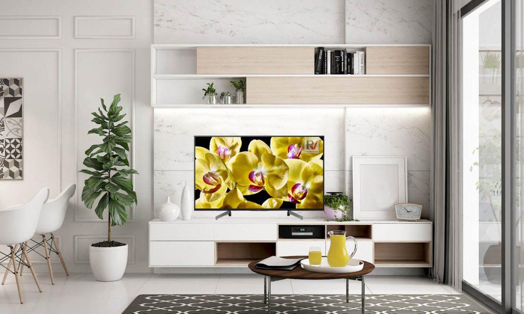 Smart Tivi Sony 4K 49 inch KD-49X8000G thiết kế phù hợp với mọi không gian sử dụng