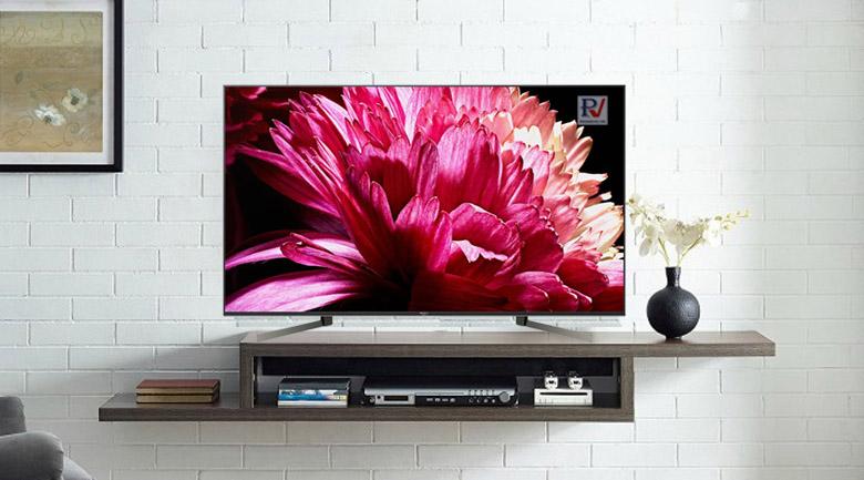 Android Tivi Sony 4K 55 inch KD-55X9500G thiết kế sang trọng phù hợp với mọi không gian