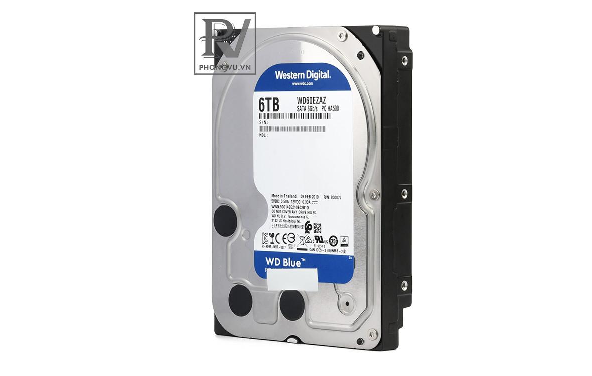 HDD Western Digital Blue 6TB - WD60EZAZ