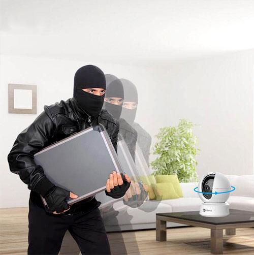Thiết bị quan sát/ Camera EZVIZ CS-CV246 với khả năng chống trộm giúp người dùng an tâm