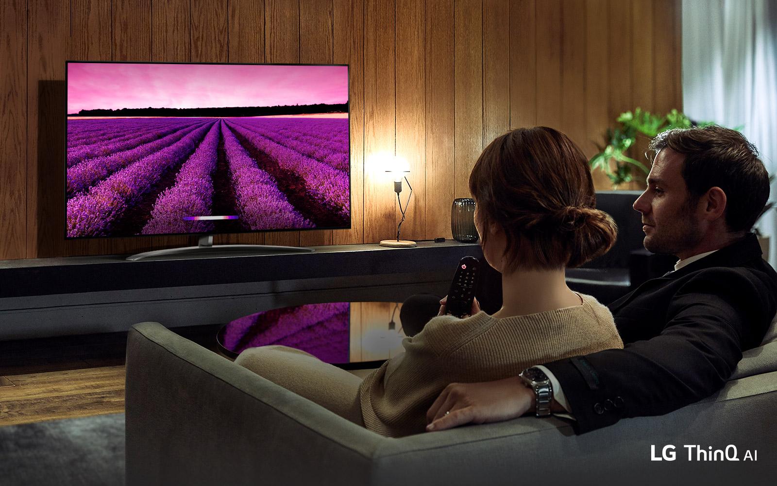 Smart Tivi LG 4K 43 inch 43UM7400PTA tích hợp trí tuệ thông minh giúp người dùng trải nghiệm hiệu quả