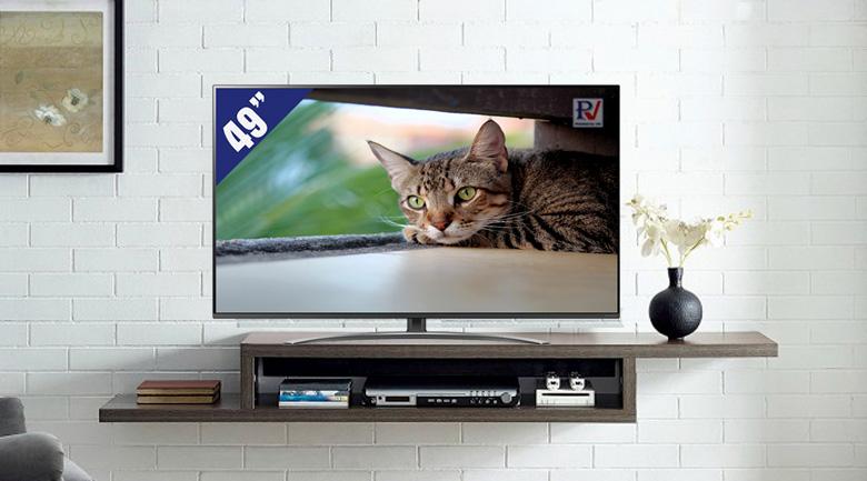 Smart Tivi LG 4K 49 inch 49SM8100PTA phù hợp với mọi không gian sử dụng