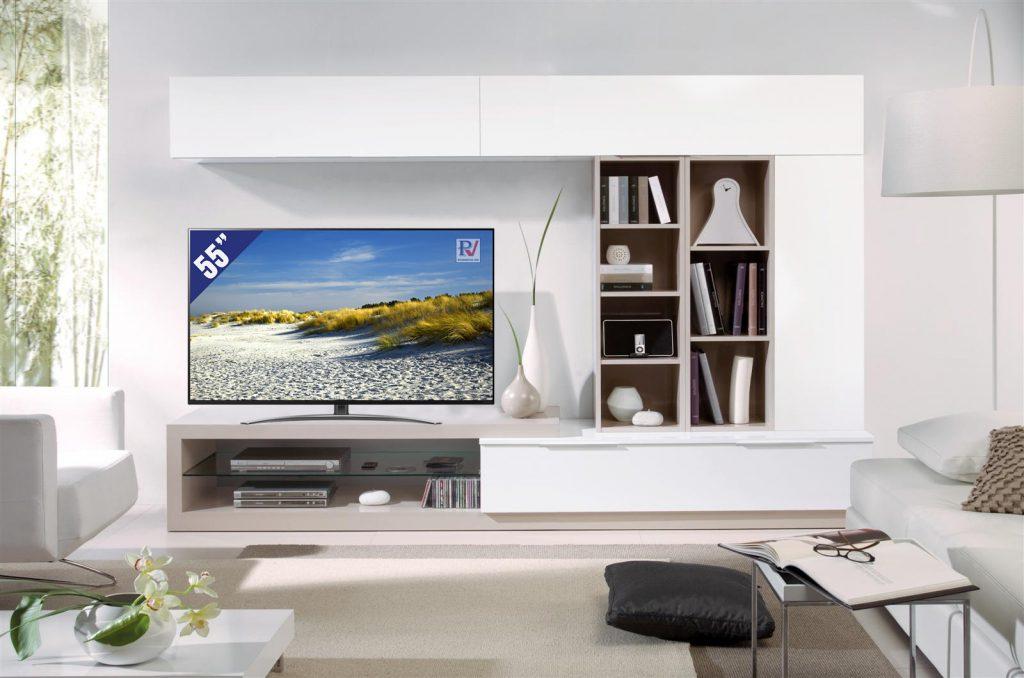 Smart Tivi LG 4K 55 inch 55SM8600PTA phù hợp không gian phòng khách