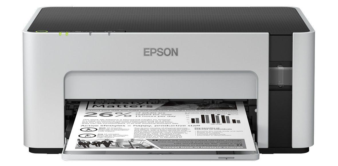 Máy in phun trắng đen Epson M1120 -2