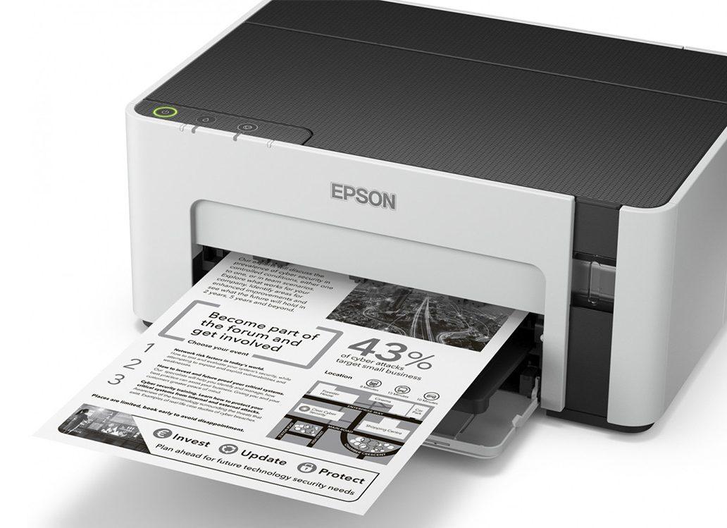 Máy in phun trắng đen Epson M1100 -3