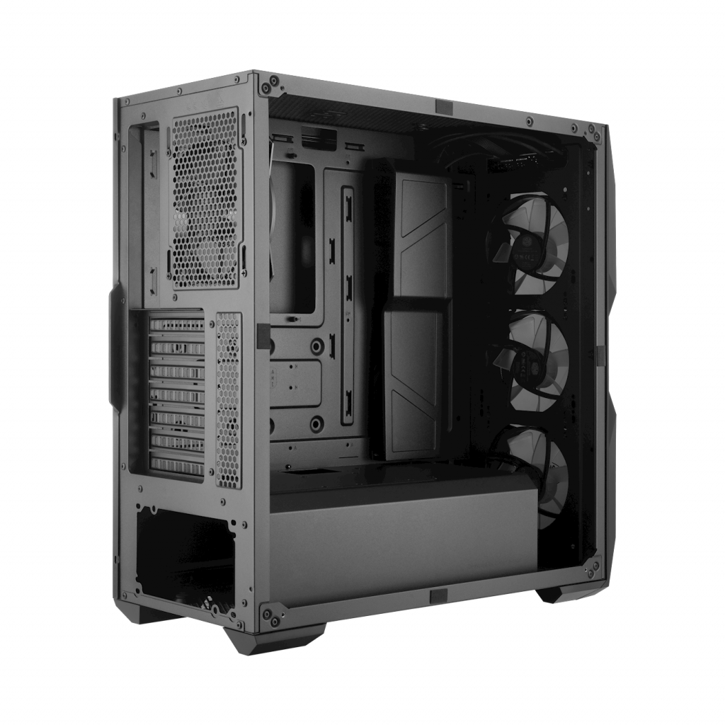 Case Cooler Master MasterBox TD500 đầy đủ cổng kết nốii