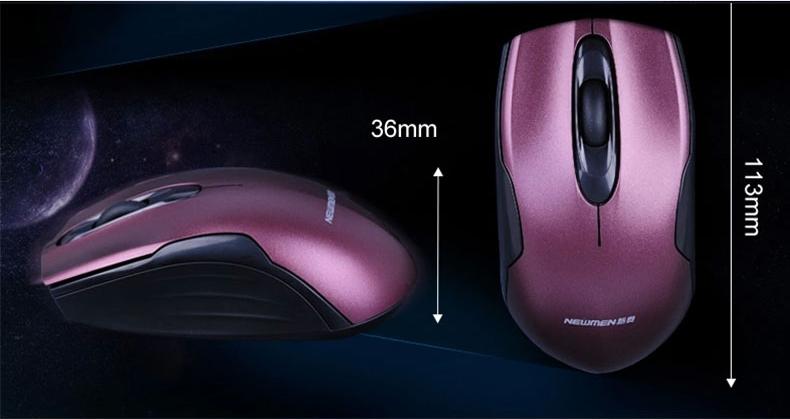 Chuột quang không dây Newmen F266-2