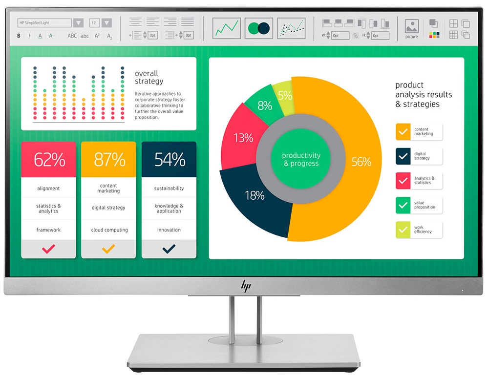Màn hình LCD HP 21.5 EliteDisplay E223