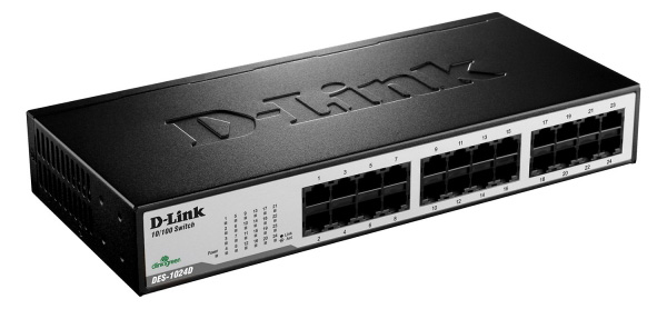 Switch-D-Link-DES-1024D-24‑Port-1