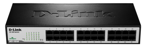 Switch-D-Link-DES-1024D-24‑Port