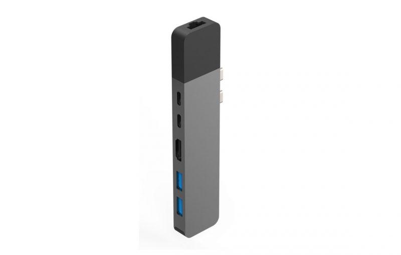 USB Hub Hyperdrive NET 6 in 2 GN28N-GR