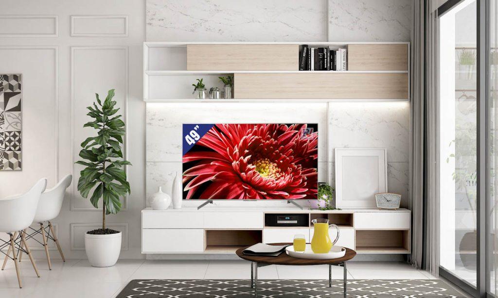 Android Tivi Sony 4K 49 inch KD-49X8500G/S phù hợp với không gian trong phòng khách