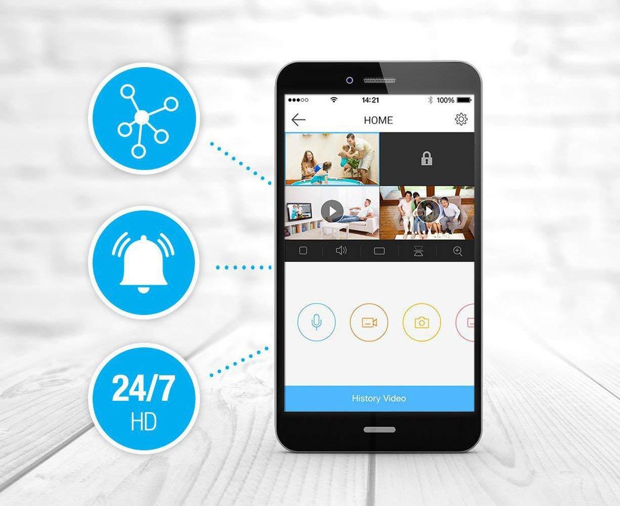 Thiết bị quan sát/ Camera EZVIZ CS-CV246 dễ dàng kết nối với Smartphone