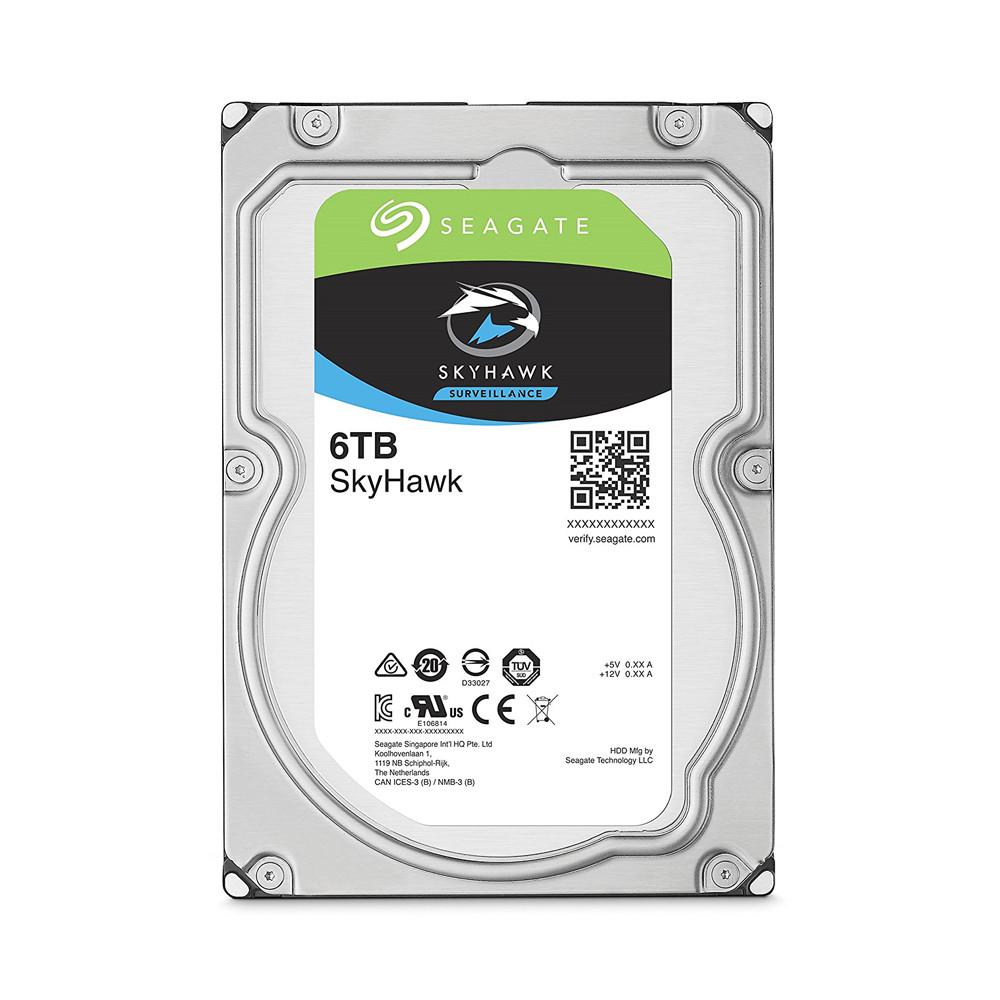 Ổ cứng HDD Camera Seagate Skyhawk 6TB 3.5 SATA (ST6000VX001)_1